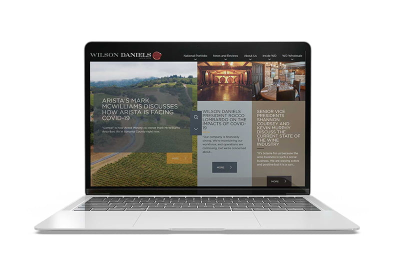 wilson daniels website