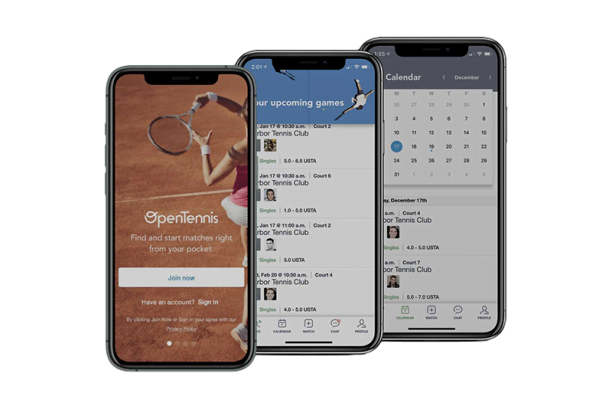 mobile app development open tennis preview rev 1 1